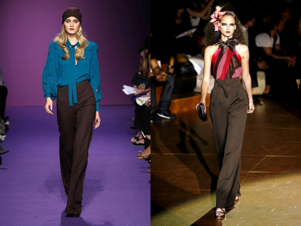 Andrew Gn i Marc Jacobs Poslovni trend: duboke pantalone
