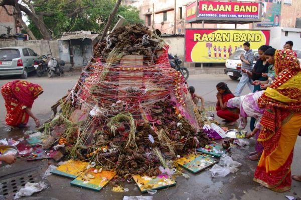 Dan pred Holi picnik Holi   indijski festival boja