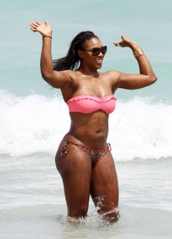 FP 7170427 Williams Serena BRJ 041611 gallery main Celebrity beach bodies