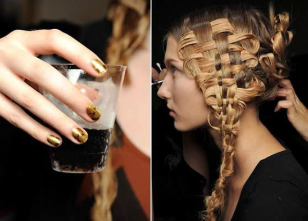 Hair And Nails Spring 2011 aleksandar mcqueem Lakovi za nokte