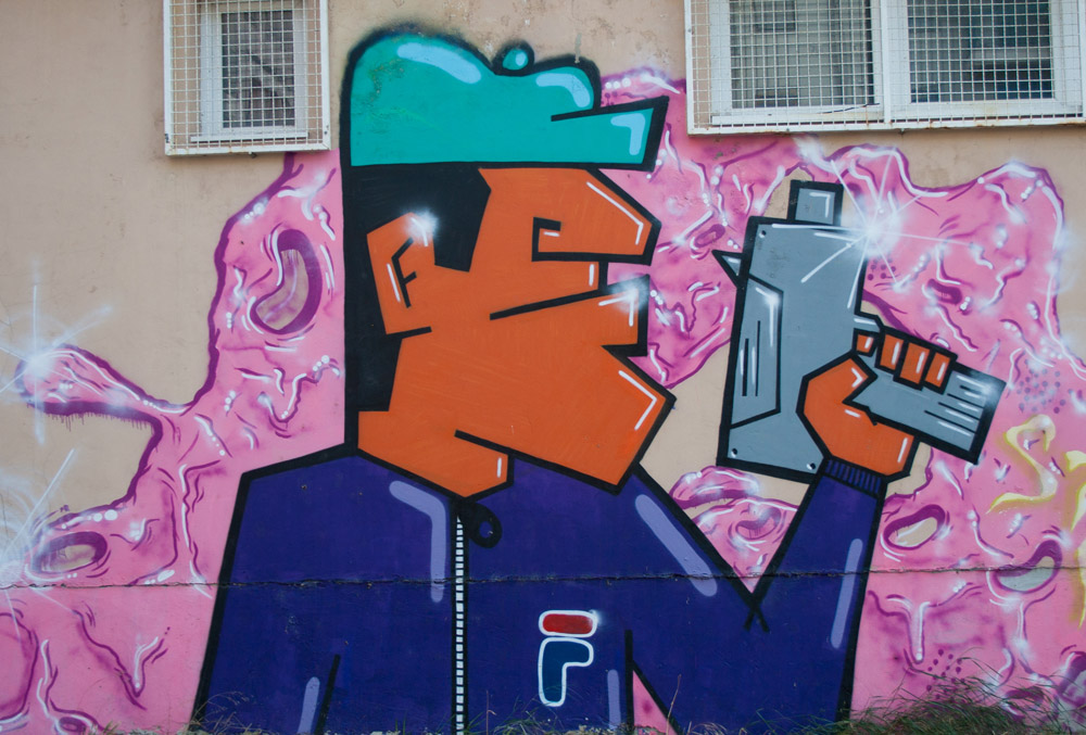 IMG 3577 Wannabe Street Art: Grafiti Pančeva