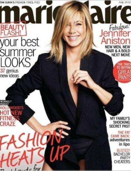 "Jennifer Aniston za ""Marie Claire US"" jul 2011."