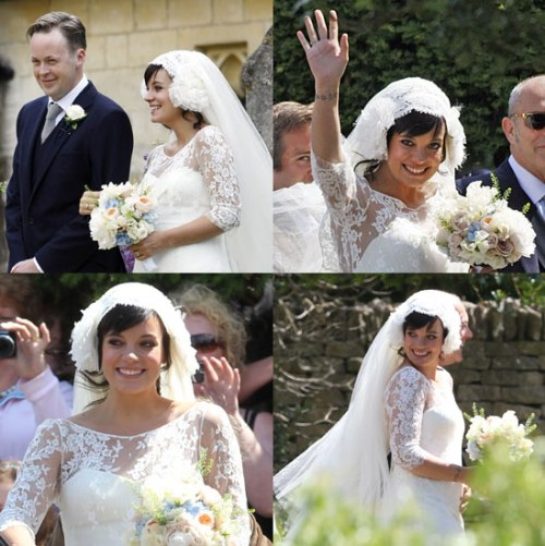 Lily Allen Wedding Pictures Trach Up