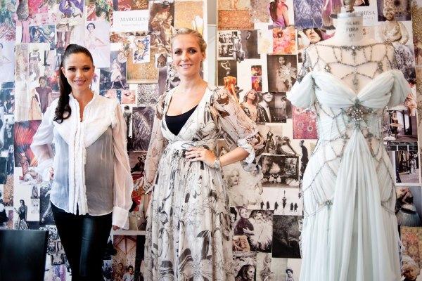 Marchesa Spring 2011 Preview Vogue US 1 Georgina Chapman – dizajner po meri zvezda!