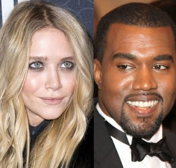 MaryKateOlsen KanyeWest Trach Up