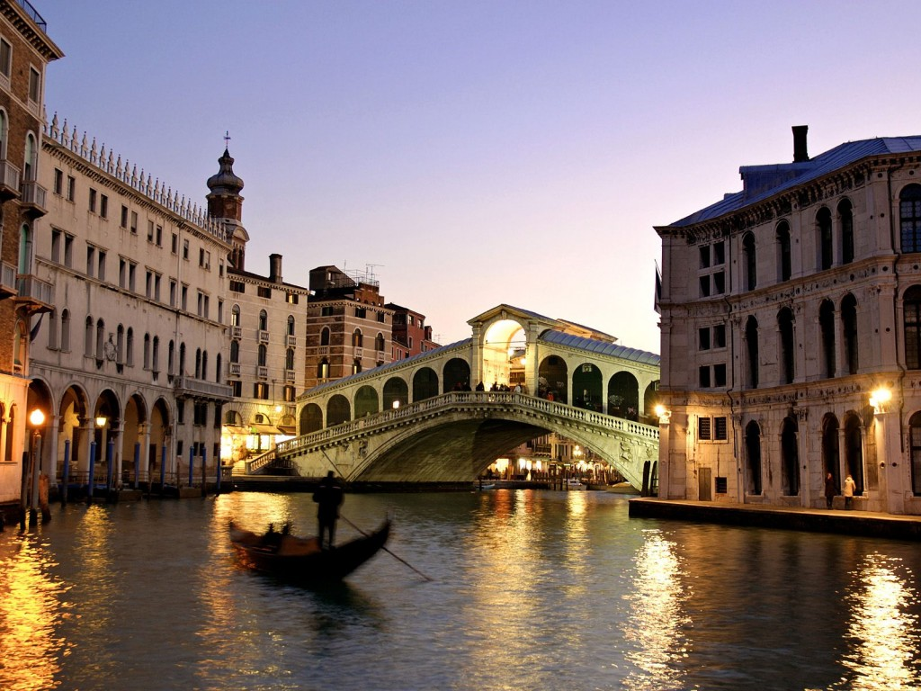 Rialto Bridge Venice Italy 1024x768 Neobične destinacije i njihove zanimljivosti