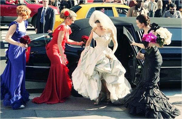 SATC WEDDING 3 Famous Wedding = Vera Wang?