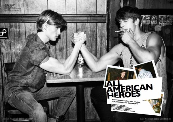 Slika 1. picnik4 Tanner Gerschik i Jules Hamilton za Fiasco jul 2011.