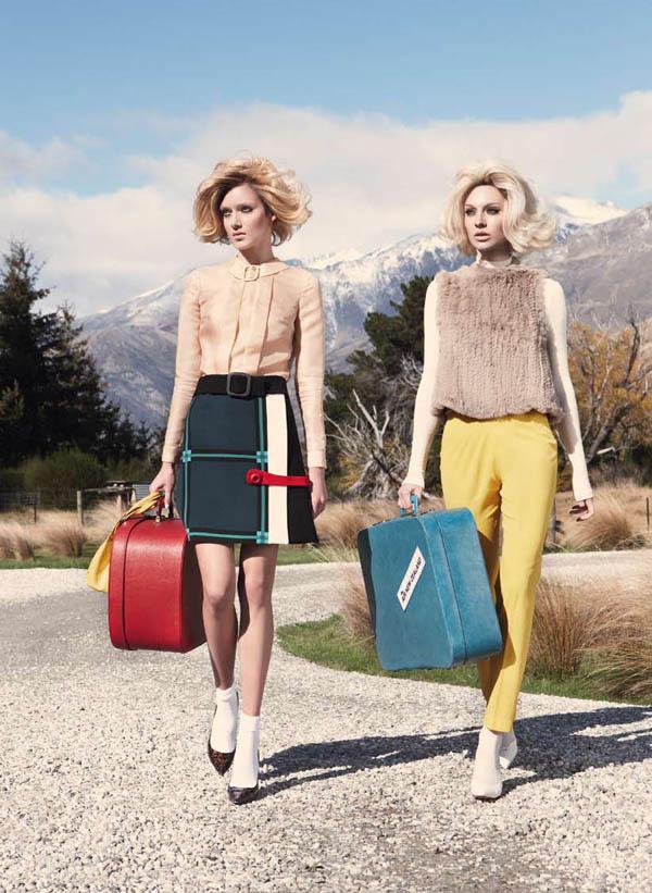 aus Emilia & Melissa za Vogue Australia jul 2011.