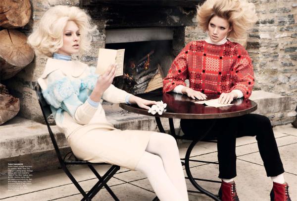 aus4 Emilia & Melissa za Vogue Australia jul 2011.