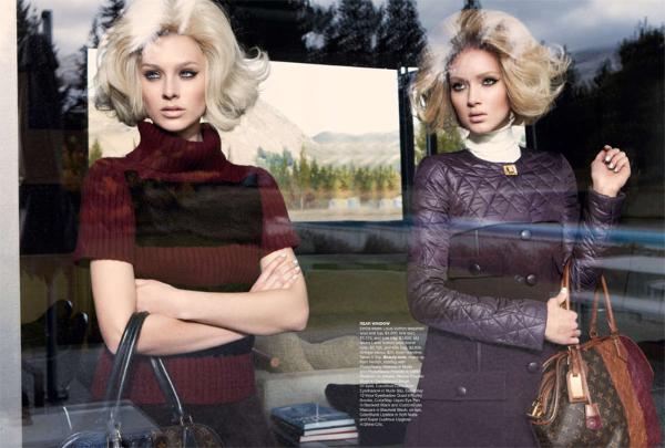 aus6 Emilia & Melissa za Vogue Australia jul 2011.