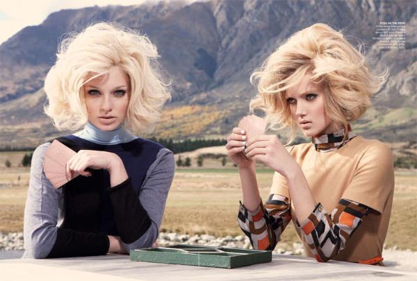aus8 Emilia & Melissa za Vogue Australia jul 2011.