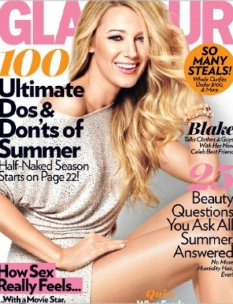 "Blake Lively za ""Glamour"" jul 2011."