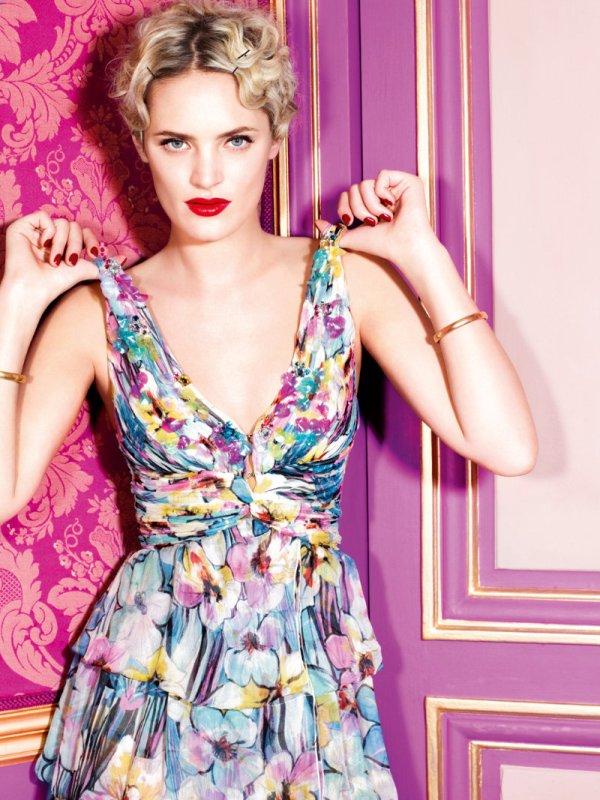 blugirlcampaign5 Leah De Wavrin za Blugirl proleće/leto 2011.