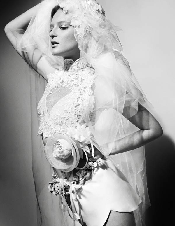 bruna Bruna Erhardt za Vogue Brazil Brides