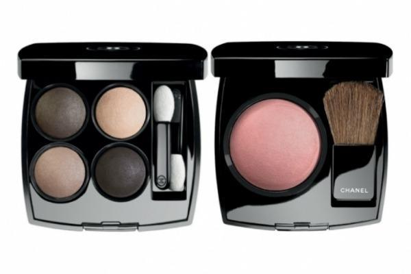 chanelfall2011eyeshadowblush thumb Makeup: Chanel kaže Ove jeseni tamne boje i šljokice