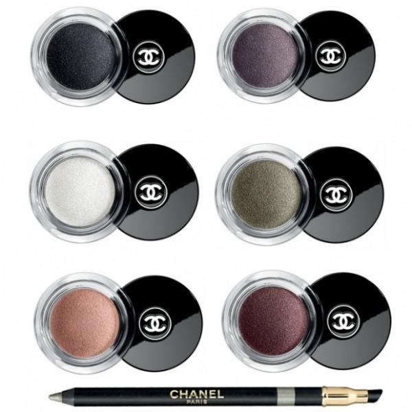 chanelfall2011eyeshadows thumb Makeup: Chanel kaže Ove jeseni tamne boje i šljokice