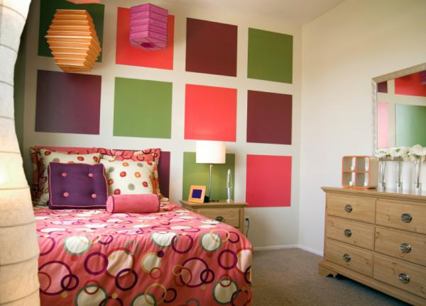 color blocking in interior design 1 Color blocking i vintage komadi u enterijeru