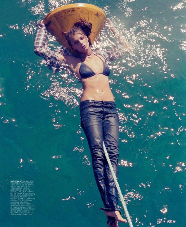 daria werbowy4 Daria Werbowy za T Magazine leto 2011.