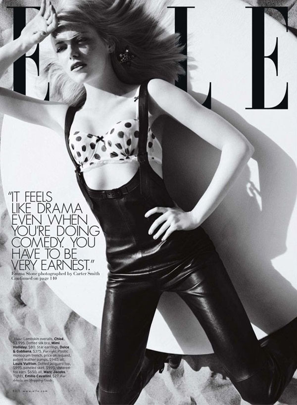 emma stone1 Emma Stoun za Elle US jul 2011.