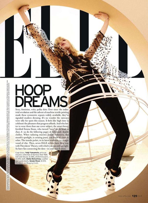 emma stone3 Emma Stoun za Elle US jul 2011.