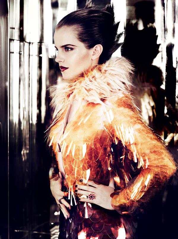 emma watson Emma Watson za Vogue US jul 2011.