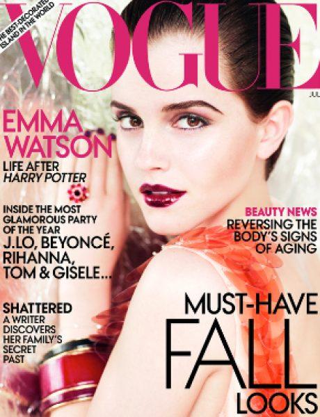 """Emma Watson za """"Vogue US"""" jul 2011."""