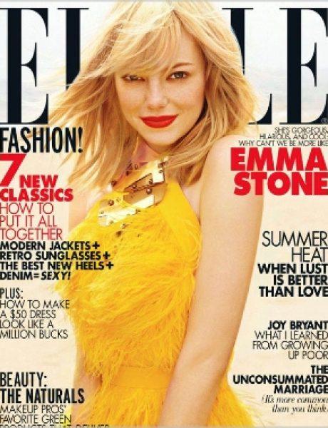 "Emma Stoun za ""Elle US"" jul 2011."
