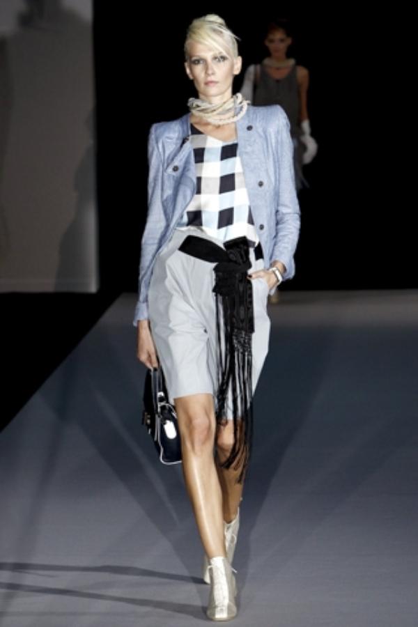 emporio armani business Business Chic Trend proleće/leto 2011.