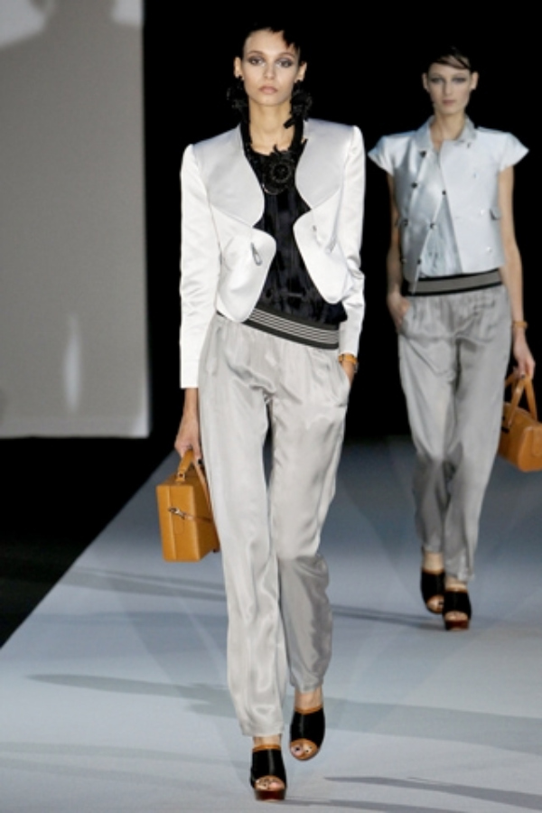 emporio armani suit casual Business Chic Trend proleće/leto 2011.