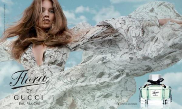 flora by gucci eau fraiche fragrance campaign1 Gucci Flora Fragrance