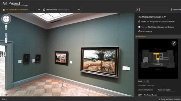 google art project3 Virtuelni hodnici umetnosti