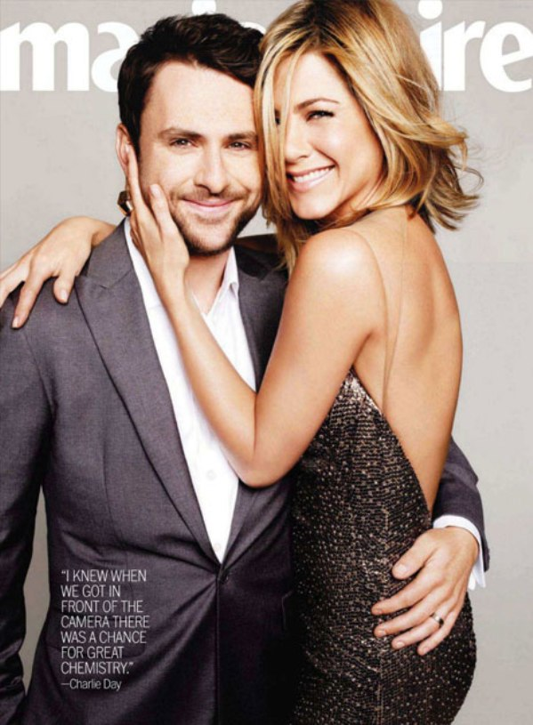 jennifer aniston charlie day marie claire july 2011 cover Jennifer Aniston za Marie Claire US jul 2011.