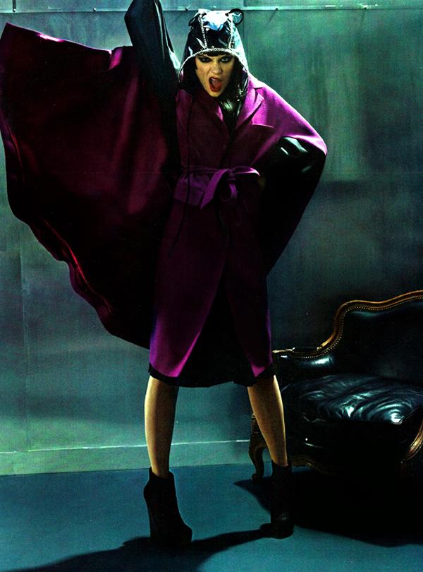 jessie j vogue italia 2 Jessie J za Vogue Italia jun 2011.