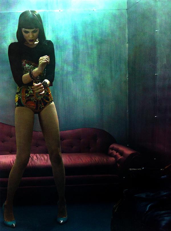 jessie j vogue italia 4 Jessie J za Vogue Italia jun 2011.