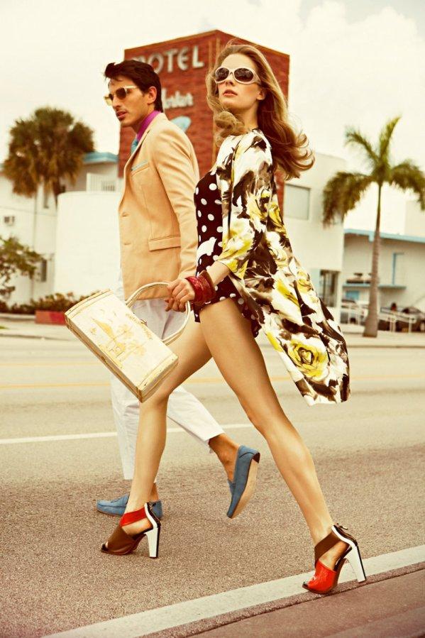 julia dunstall3 Julia Dunstall za Vogue Hombre proleće/leto 2011.