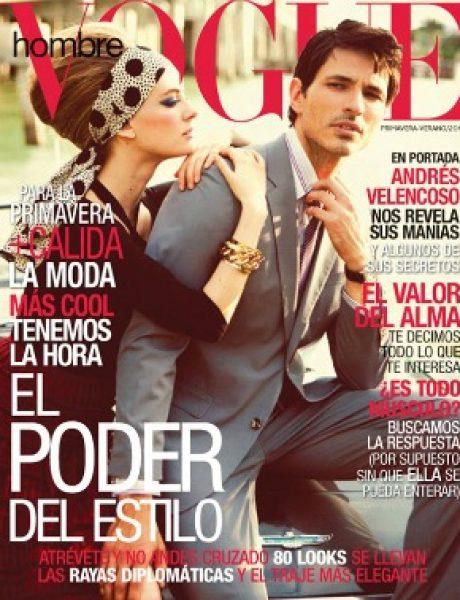 """Julia Dunstall za """"Vogue Hombre"""" proleće/leto 2011."""