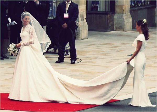 kate middleton wedding dress 4 Famous Wedding = Vera Wang?