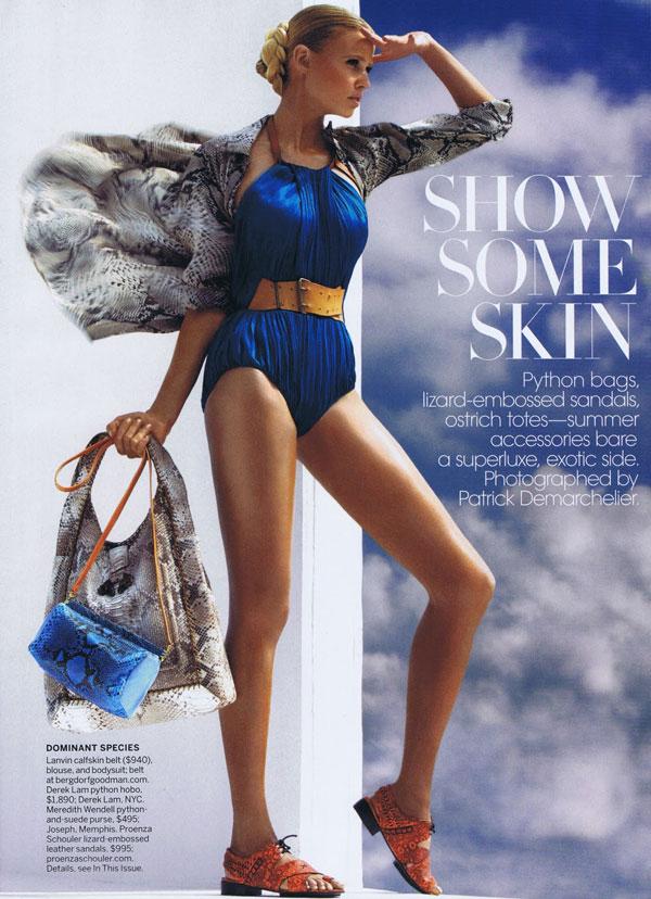 lara stone2 Lara Stone za Vogue US jun 2011.