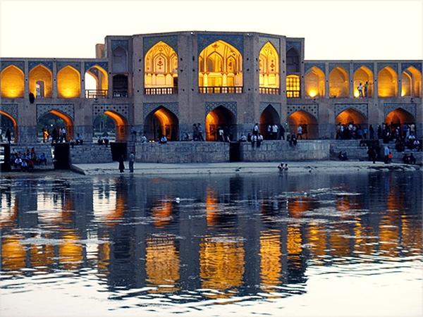 lcfwvmw Najlepši mostovi sveta: Khaju most, Iran