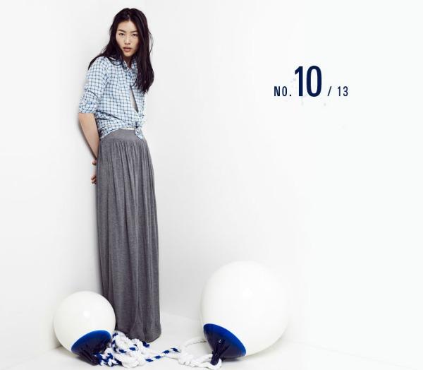 liu wen11 Liu Wen za Madewell Looks We Love