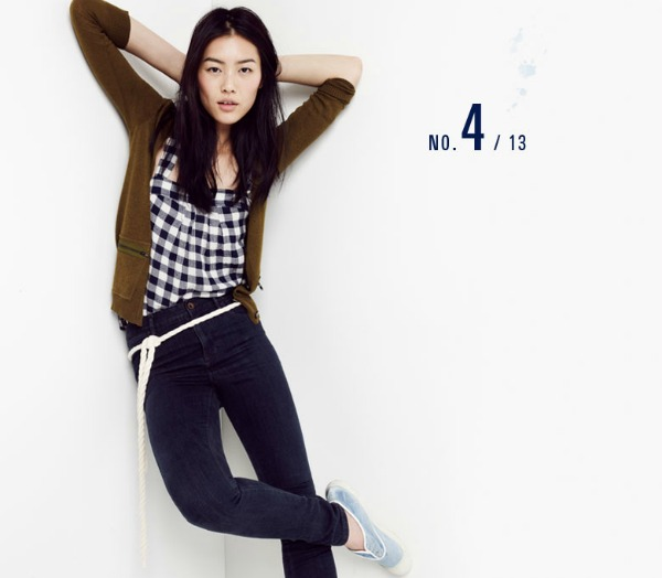 liu wen5 Liu Wen za Madewell Looks We Love