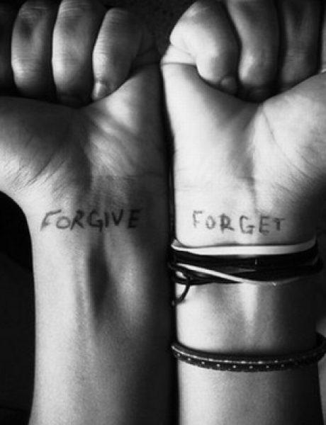 Ne opraštaj, ionako ćeš zaboraviti