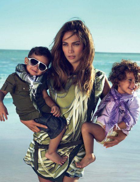 J.Lo sa blizancima za Gucci