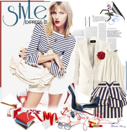 sailor style Fashion tips by Marry