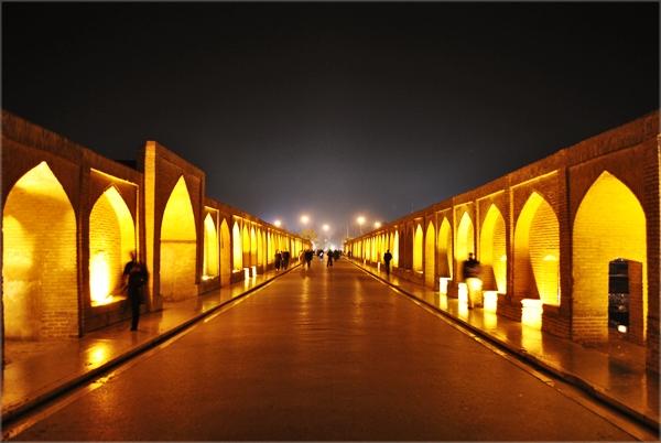 vfefin Najlepši mostovi sveta: Khaju most, Iran