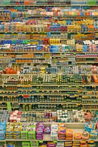121079937124 supermarket shelves Veštica iz supermarketa