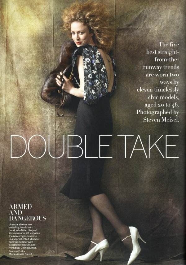 "137 ""Double Take""   Vogue US, avgust 2011."
