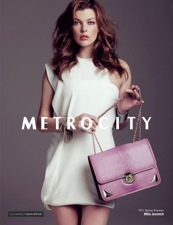 158  Milla Jovovich za Metrocity – proleće/leto 2011.