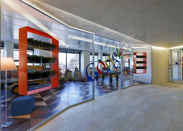 225 Google kancelarije širom Evrope